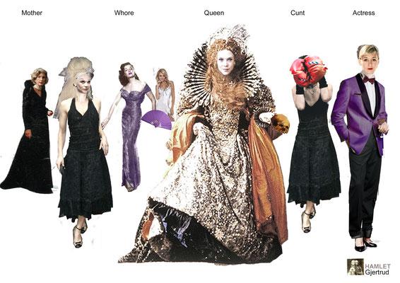 hamlet            kostüme        hendrik scheel