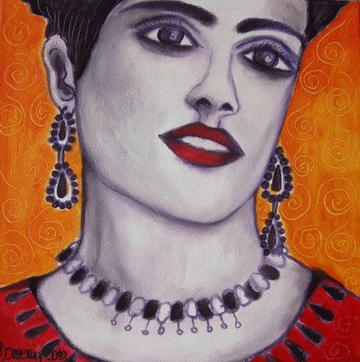 FRIDA ORANGE. 2010. (Salma Hayek als Frida)