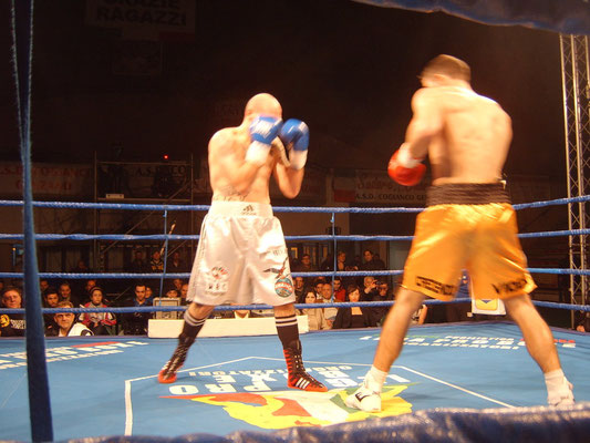Blas-Miguel Martinez WBC Mediterranean super middleweight title in Rom 2012
