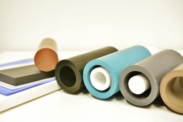 PTFE tube rod semi-finished product
