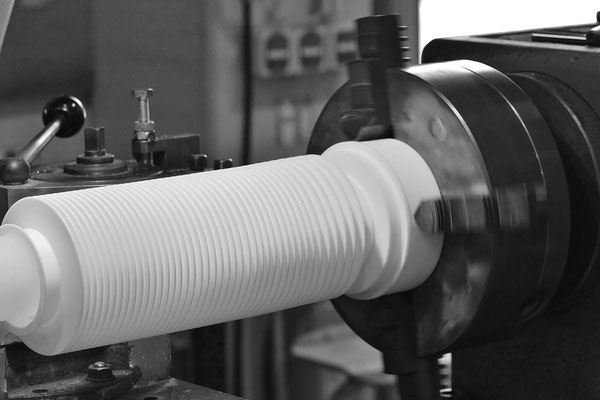 PTFE pre-fabricated bellows