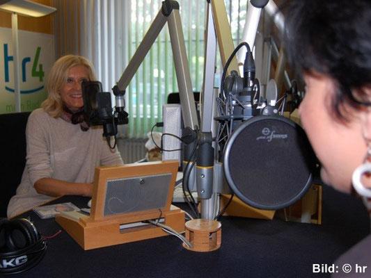 Nelly Sander im hr4-Studio 07.06.2015