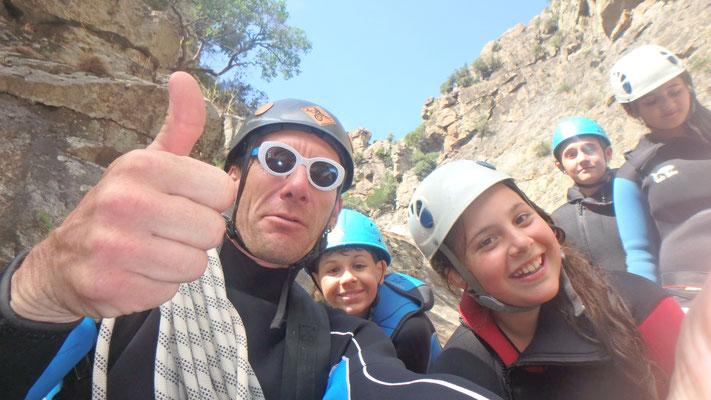 canyoning hérault-caroux-Canyon du Rec Grand