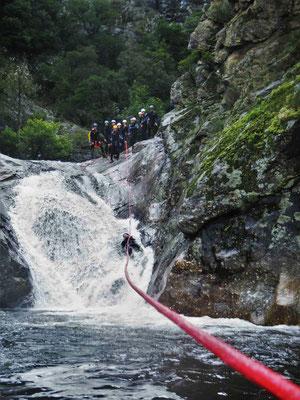 Le Canyon du rec grand- gros débit...