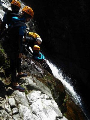 canyon du rec grand -massif du Caroux