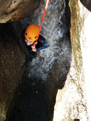 canyoning vers montpellier- massif du caroux- le Vialais