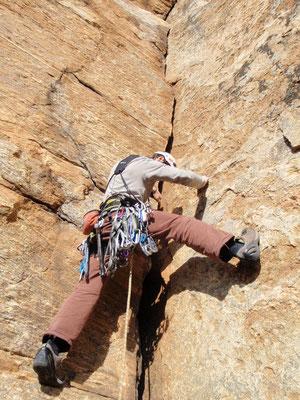 """escalade hérault-grimpe au caroux- le dièdre parfait du """"grand livre"""""""