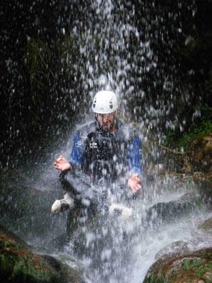 Canyoniong dans l'hérault- canyon de l'albès