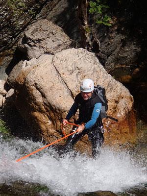 canyoning hérault-caroux-canyon d'Albès