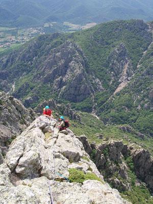 escaladehérault- caroux- au sommet la déplasse