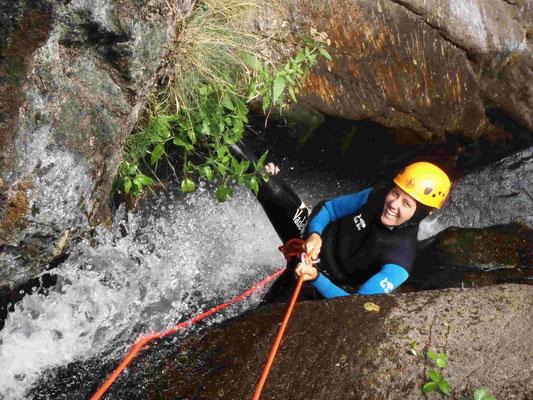canyoning au nord de béziers - le sailhens