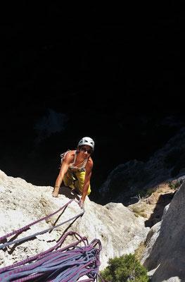 escalade- st guilhem le désert- les plus belles grandes voies calcaire de l'hérault