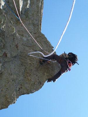 Escalade hérault-caroux- escalade montagne a l'aiguille viala