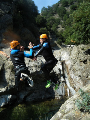 canyoning haut languedoc- le vialais