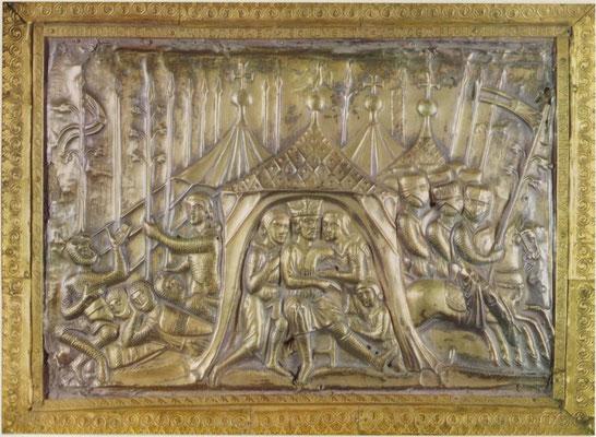 Reliquaire de Charlemagne - Cathédrale d'Aix-la-Chapelle - 1215