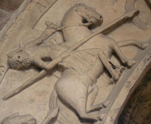 1120-1240 ; Cathedrale de Modène, Portail Nord, Porte du Poisson