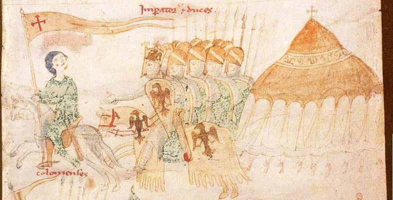 Liber ad Honorem Augusti - BBB Cod. 120.II - Italie - 1195-1197 - f.109r