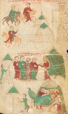 Liber ad Honorem Augusti - BBB Cod. 120.II - f.112r - Italie - 1195-1197