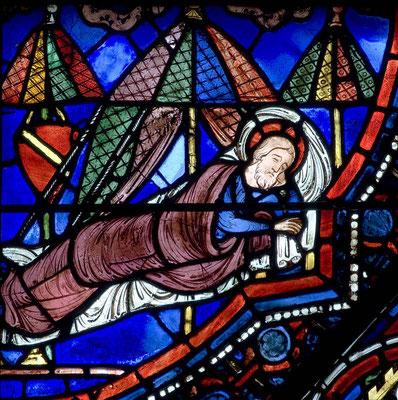 Cathédrale de Chartres - Baie 21 - Panneau 15 - 1215-1225