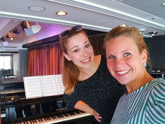 Friederike Sieber, Klavier & Linda Joan Berg, Sopran