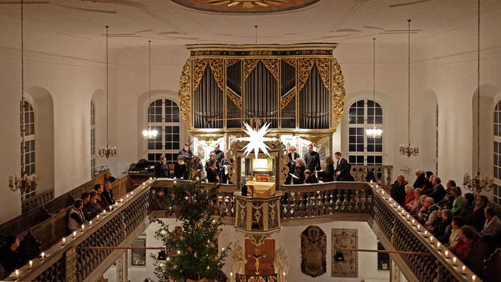 Friedenskirche Ponitz (Silbermann)