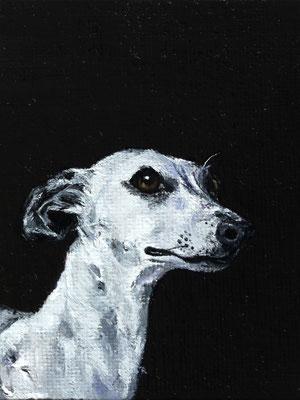 """Pauline"", Öl, 8 cm x 10cm, 2017"