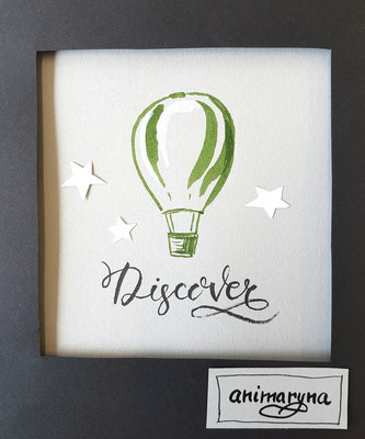 Discover, handmade, paper