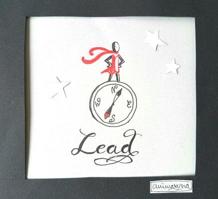 Lead, handmade, paper