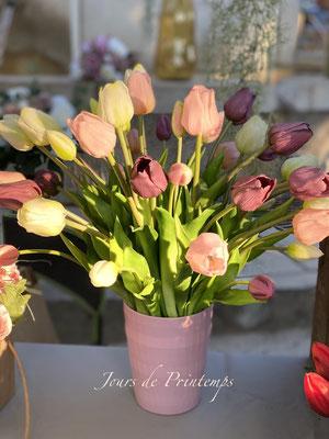 Tulipes artificielles Haut de Gamme