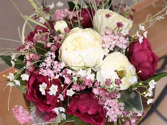 Composition fleurs Artificielles cimetière