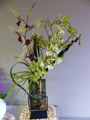 Orchidées artificielles haut de gamme