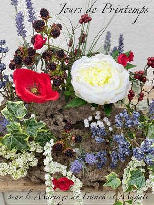 Créations florales artificielles Haut de Gamme pour Mariage