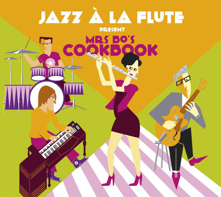 "Jazz à la flute present ""Mrs Bo's cookbook"""