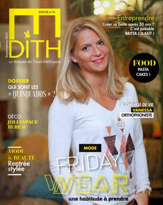 Edith Magazine de septembre 2017 - Rando Sophro avec les Ânes de Balaam.