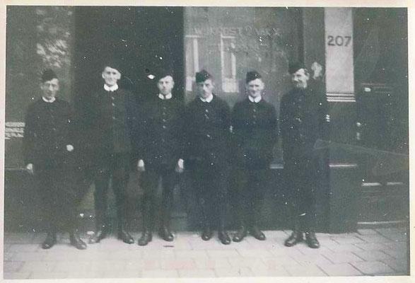 Ordedienst L.B.D. Wijkpost 2 vak X © Foto Collectie Oorlogsleven