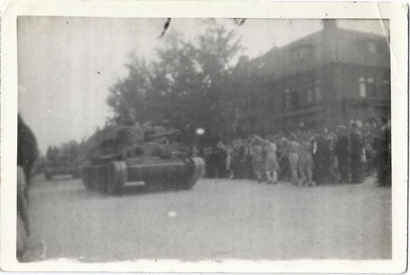Bevrijding van Eindhoven, 17 september 1944 © Foto Collectie Oorlogsleven