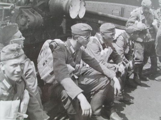 Foto uit het fotoalbum van het 88ste infanterie regiment © Foto Collectie Oorlogsleven