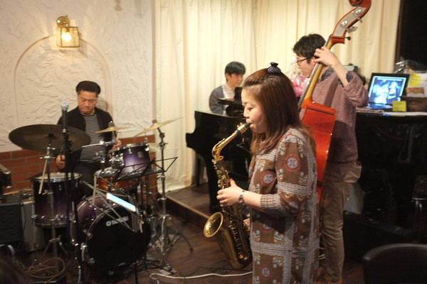 2015.4.19 Sunday Jam  Special Guest 堤智恵子