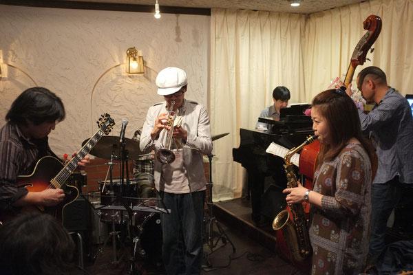 2015.4.19 Sunday Jam  Special Guest 堤智恵子