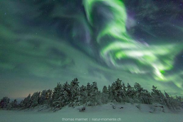 Nordlichter Kiruna
