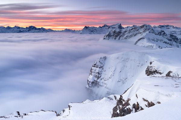 Nebelmeer in der Zentralschweiz