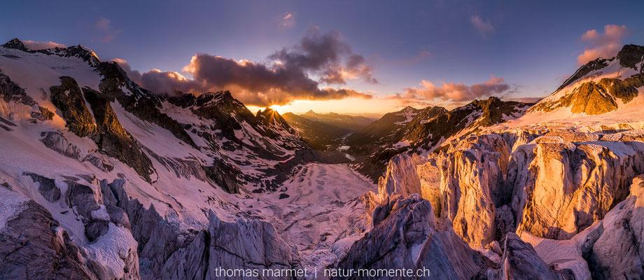 Gletscher im Wallis