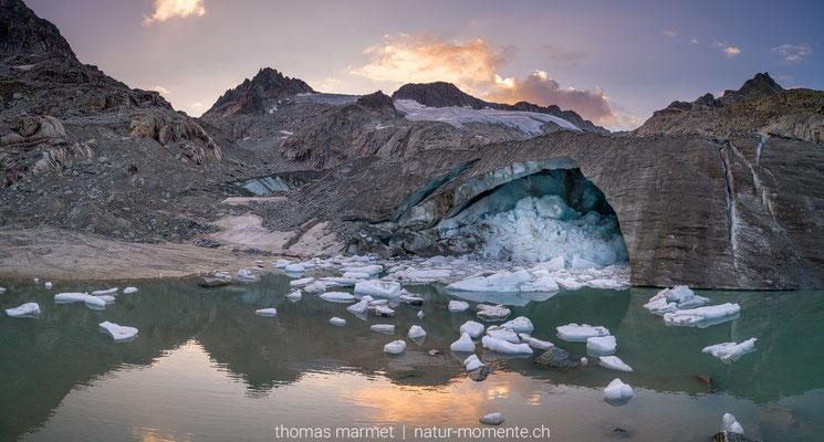 Gletscher am Furkapass