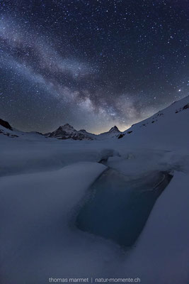 Milchstrasse Berner Oberland