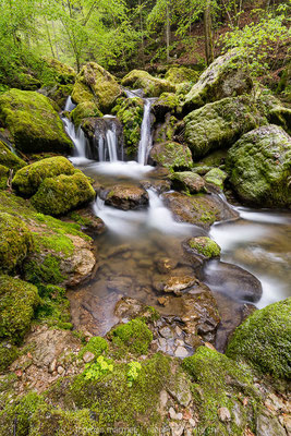 Kleiner Wasserfall Twannbachschlucht