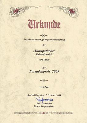 25. Fassadenpreis 2009