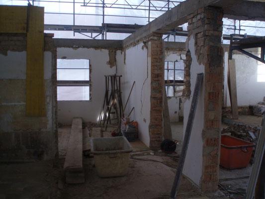 21. Totalsanierung des Rückgebäudes