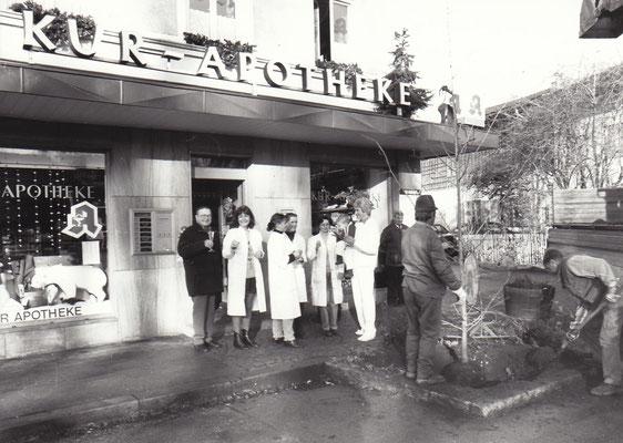 18. das Jubiläum 50 Jahre Kur-Apotheke, 17.12.1999
