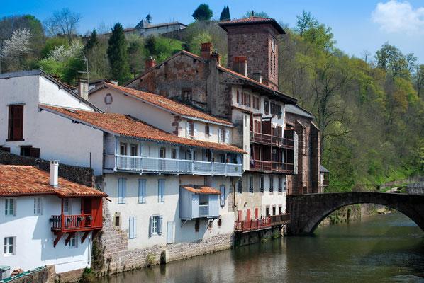 St Jean Pied de Port - dernière étape française vers Santiago