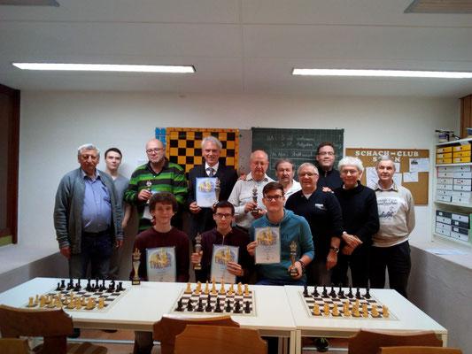 Schnellschachmeisterschaft 2018